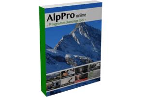 AlpPro online – Das Tool für Ihre Touren- und Kursplanung